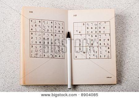 Sudoku Book And Pen