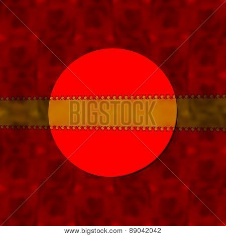 Red decorative blurred background