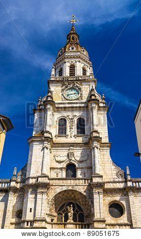 Church Notre-dame De L'annonciation In Bourg-en-bresse, France