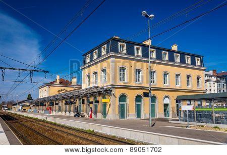 Station Of Bourg-en-bresse - France, Rhone-alpes