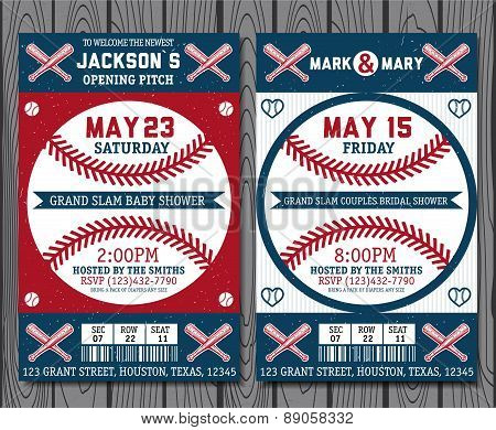 Baseball labels