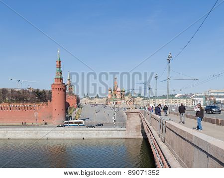 Moscow In The Spring