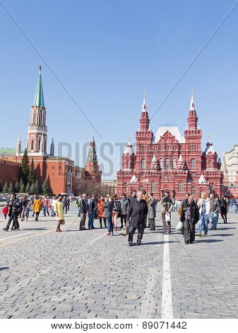 People In Red Square