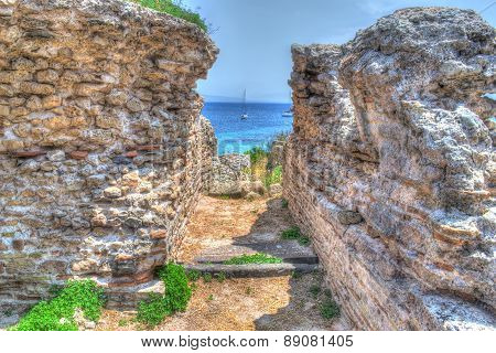 Ancient Ruins In Tharros