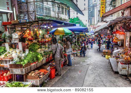 Hong Kong Historic Landmark: Graham Street Wet Market