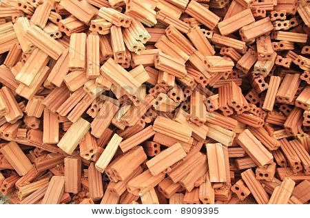 Stack of Brick work
