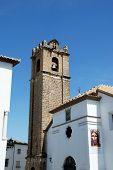 Parish of our Lady of the Assumption church (Parroquia de Nuestra Senora de la Asuncion) Priego de Cordoba Cordoba Province Andalusia Spain Western Europe. poster
