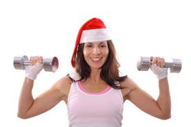 Healthy fitness Christmas