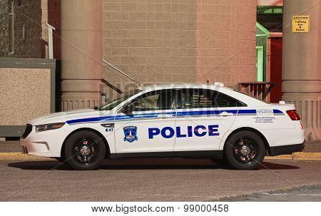 Halifax Regional Police Car