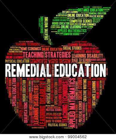 Remedial Education Indicates Study Learning And Learned