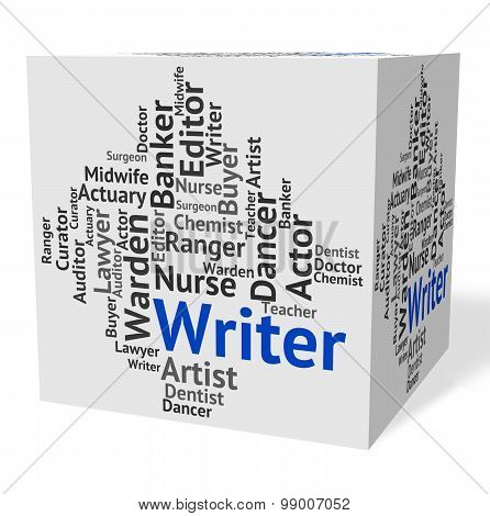 Writer Job Shows Hire Writers And Occupation