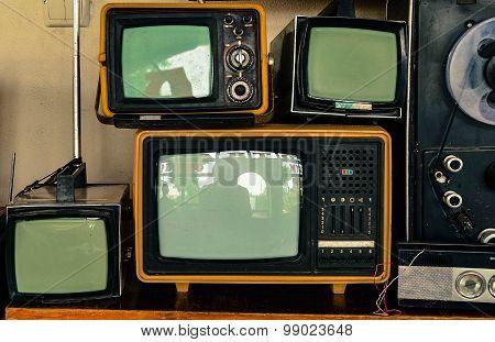 Soviet Retro Tvs
