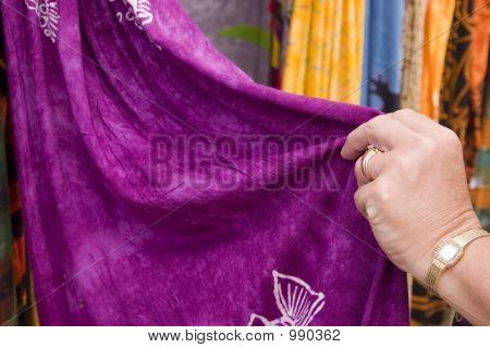 Touching Fabric 3