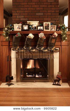 fireman's fireplace