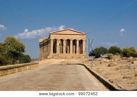 Temple Of Concordia, Agrigento