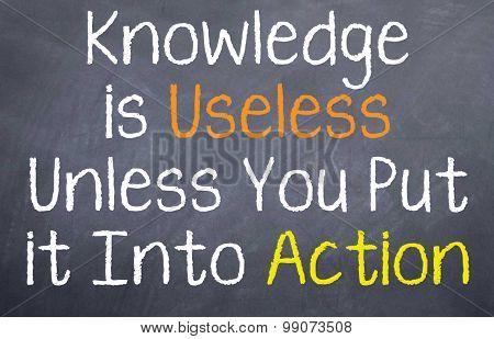 Knowledge is Useless