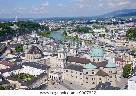 View from the Hohensalzburg Castle - Salzburg, Austria