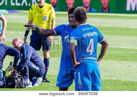 Zenit Saint-petersburg Players