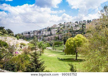 Israel Jerusalem Valley of Hinnom April 4, 2015