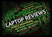 Laptop Reviews Indicating Keyboard Reviewed And Digital poster
