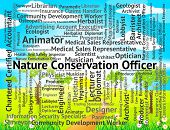 Nature Conservation Officer Meaning Eco Friendly And Administrator poster