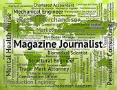 Magazine Journalist Meaning War Correspondent And Commentator poster