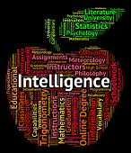 Intelligence Word Meaning Intellectual Capacity And Talent poster