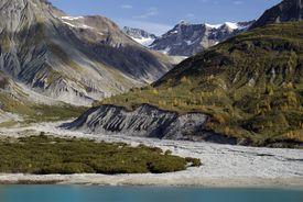 Mountains in Glacier Bay, Alaska