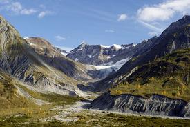 Mountains in Glacier Bay