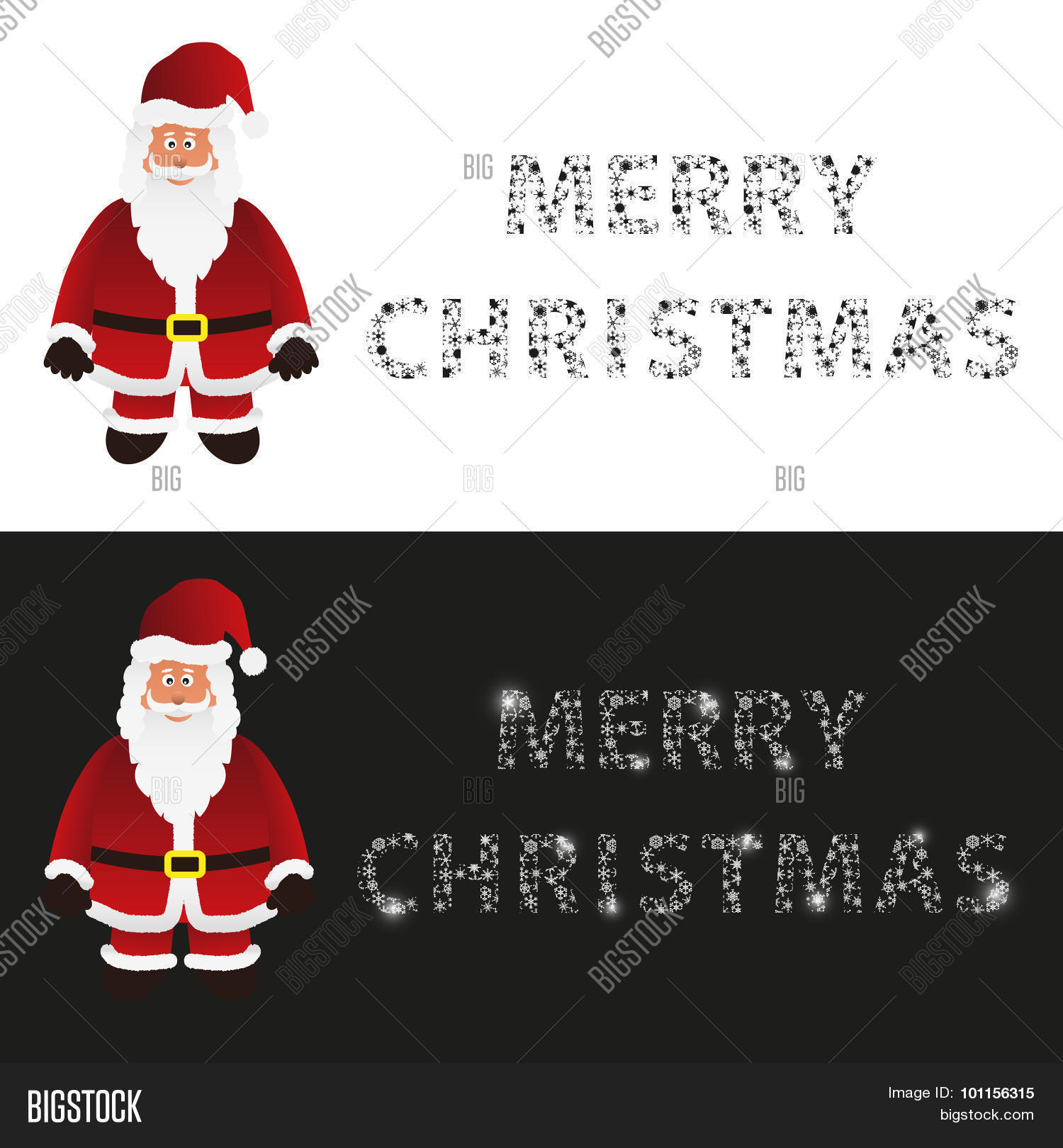 Mery Christmas Vector Photo Free Trial Bigstock