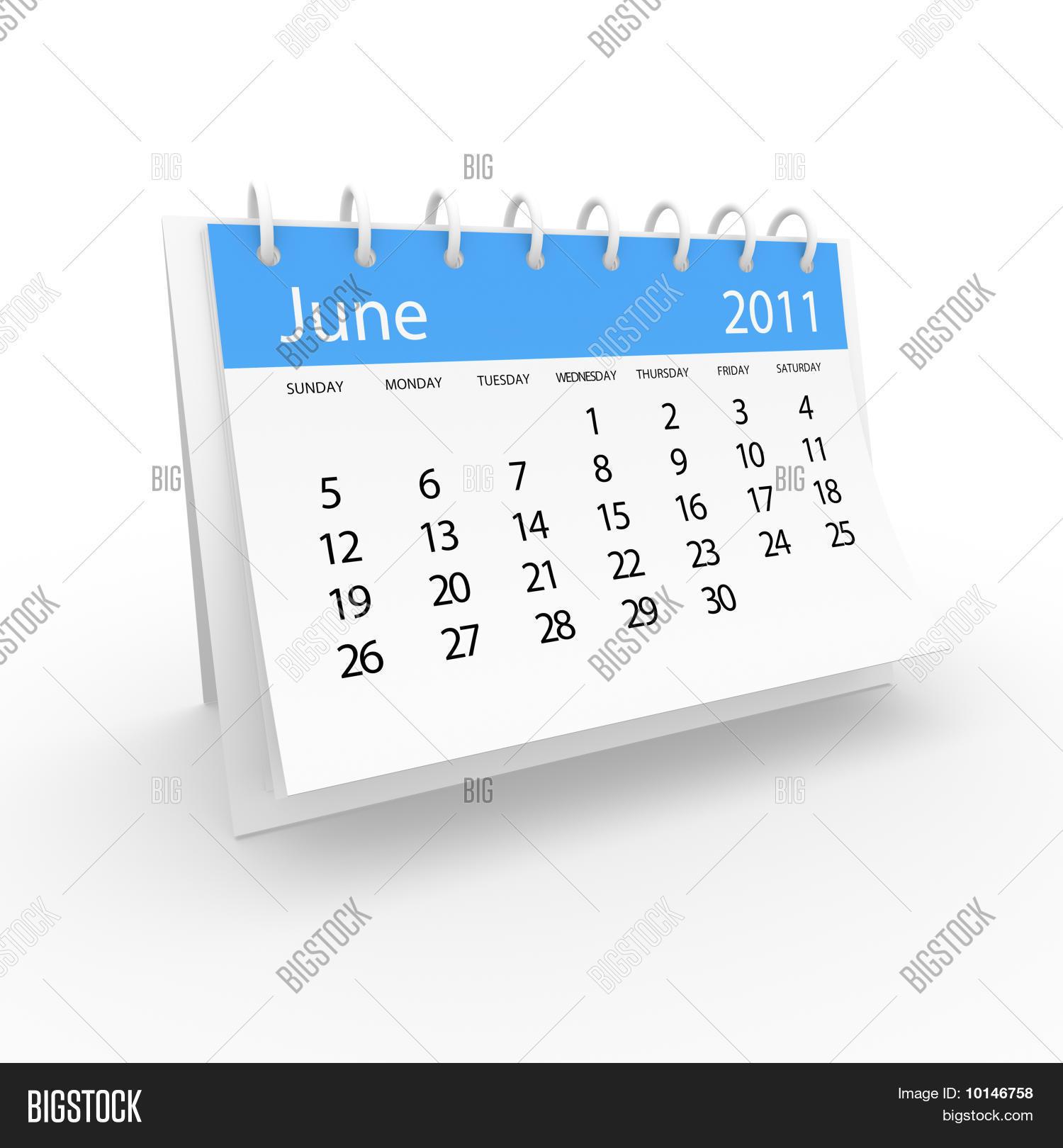 Calendar 2001 June Image & Photo (Free Trial) | Bigstock