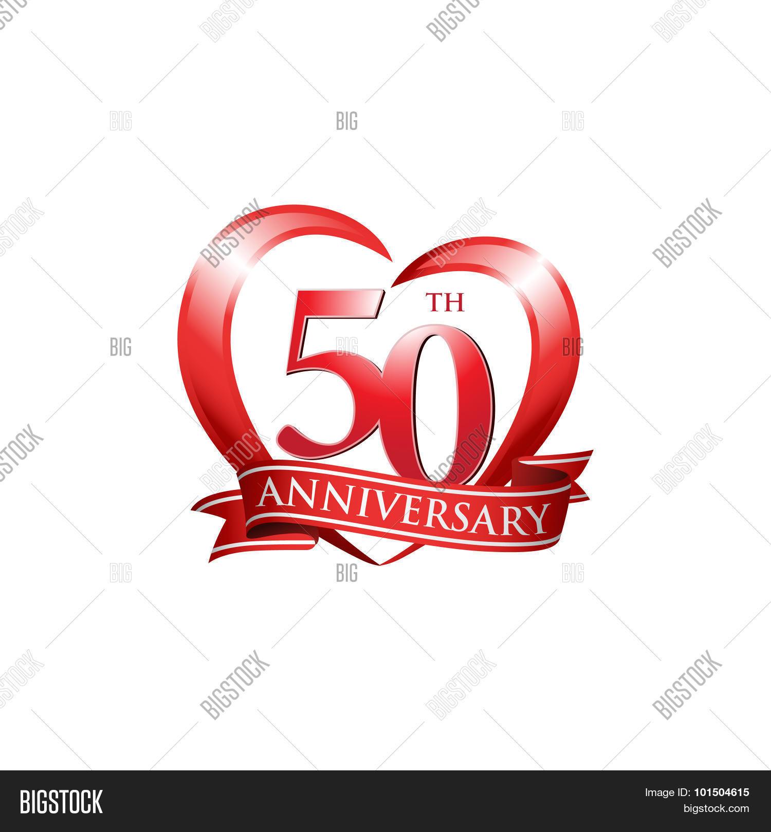 50th Anniversary Logo Vector & Photo (Free Trial) | Bigstock
