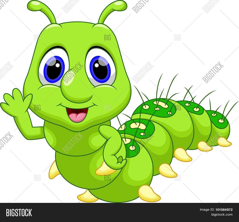 Cute Caterpillar Vector Photo Free Trial Bigstock