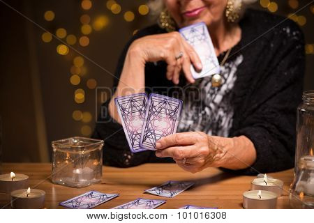 Looking At The Cards