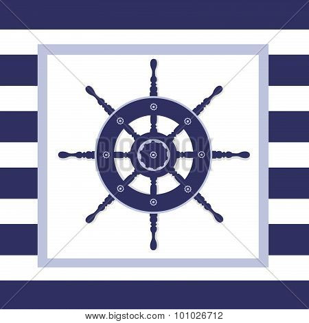 Nautical Helm Wheel