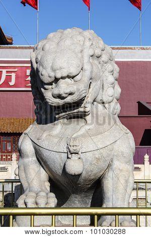 Pi Xiu sculpture