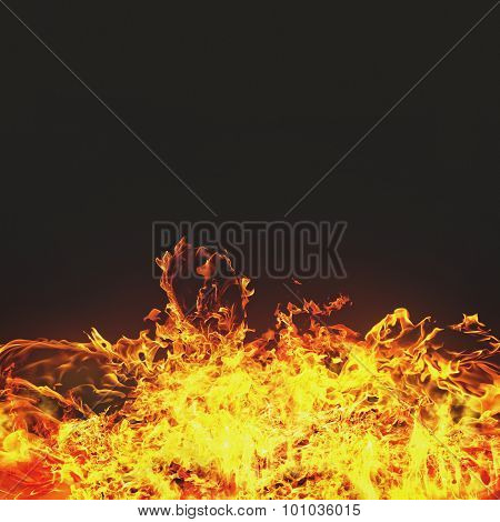 Burning flame abstract backgrounds for your design
