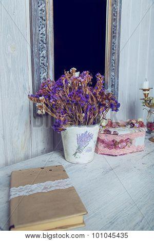 White Vintage Table