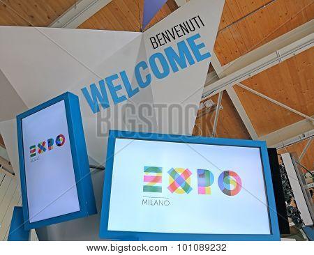 Milan, Italy - 8Th September, 2015. Expo Milano. Detail Of Usa Pavilion