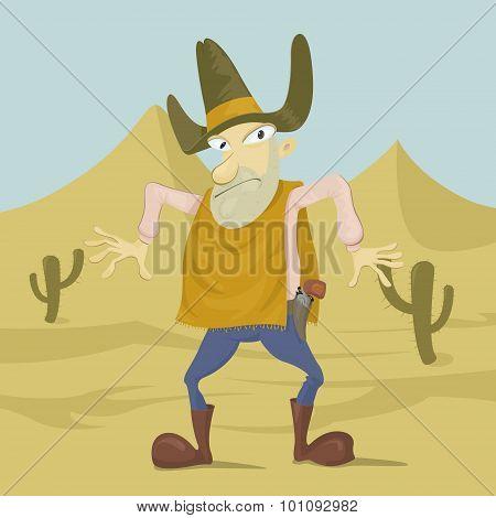 Gunman In The Desert