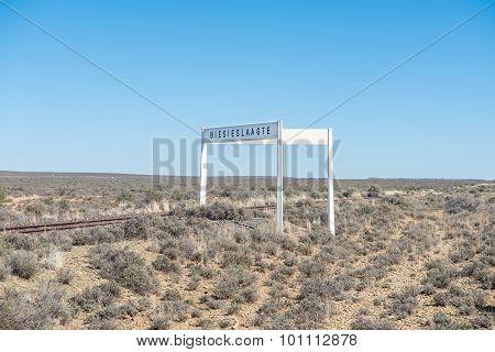 Railway Station Biesieslaagte