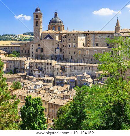 Landmarks of Italy - Urbino, UNESCO site