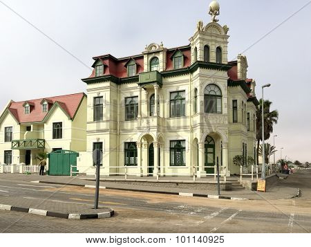 Hohenzollern House - Namibia, Africa