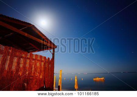 Wooden Cabin By The Sea In Alghero