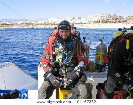 Technical Scuba Diver
