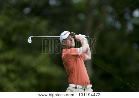 WENTWORTH, ENGLAND. 23 MAY 2009.David Horsey (GBR) playing in the 3rd round of the European Tour BMW PGA Championship.