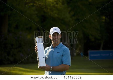 WENTWORTH, ENGLAND. 24 MAY 2009.Paul Casey (GBR) winner of the European Tour BMW PGA Championship.