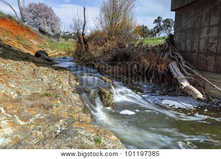 Bubbling Flows At Limestone Creek Millamolong