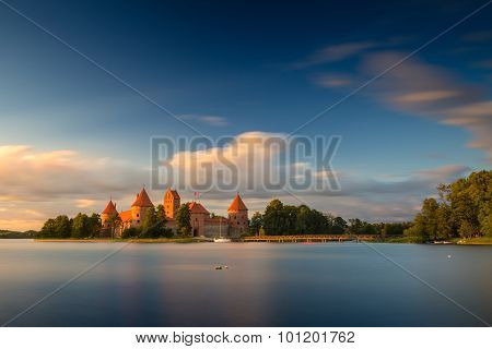Old castle. Trakai, Lithuania.