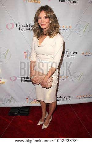LOS ANGELES - SEP 9:  Jaclyn Smith at the Farrah Fawcett Foundation Presents 1st Annual Tex-Mex Fiesta at the Wallis Annenberg Center for the Performing Arts on September 9, 2015 in Beverly Hills, CA